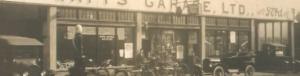 Watney Hall Garage-First Watts Garage 1919_0